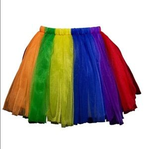 Dresses & Skirts - Rainbow Tutu Skirt New Halloween New NWT